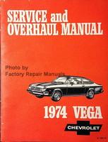 Service and Overhaul Manual 1974 Chevrolet Vega