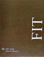 2007-2008 Honda Fit Service Manual