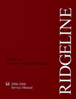 Honda Ridgeline 2006-2008 Service Manual