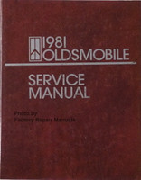 1981 Oldsmobile Service Manual