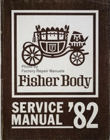 Fisher Body Service Manual '82