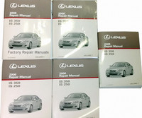 2006 Lexus IS250 IS350 Factory Shop Repair Manual 5 Volume Set Original