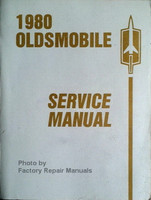 1980 Oldsmobile Service Manual