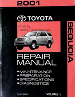 2001 Toyota Sequoia Repair Manual Volume 1