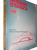 1991 Nissan Stanza Service Manual