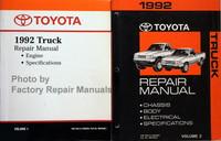 1992 Toyota Truck Repair Manual Volume 1, 2
