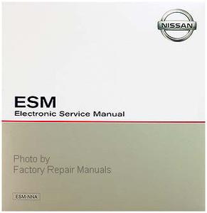 2015 Nissan Altima ESM Electronic Service Manual
