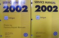 Service Manual 2002 Oldsmobile Intrigue Volume 1, 2