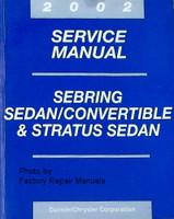 2003 Service Manual Sebring Sedan/Convertible & Stratus Sedan