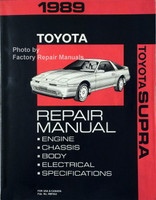 1989 Toyota Supra Repair Manual