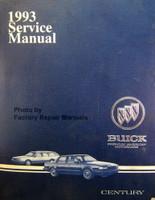 1993 Buick Century Service Manual