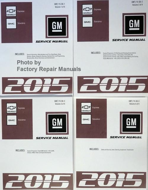 gmc vandura 2500 repair manual