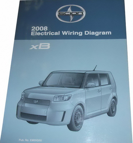 scion 2008 electrical wiring diagrams xb