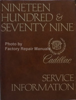 1979 Cadillac Service Manual