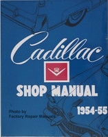 Cadillac Shop Manual 1954-1955
