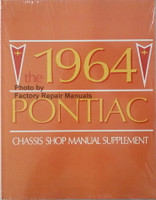 1964 Pontiac Chassis Shop Manual Supplement