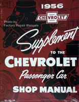 1956 Chevrolet Supplement to the Passenger Car Shop Manual