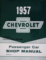 1957 Chevrolet Passenger Car Shop Manual