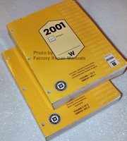 Service Manual 2001 Oldsmobile Intrigue Volume 1, 2