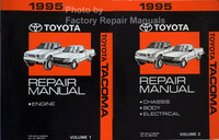 1995 Toyota Tacoma Repair Manual Volumes 1 and 2