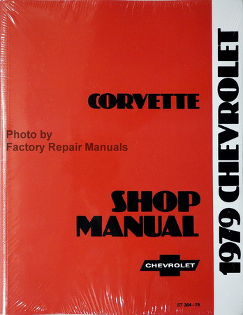 1979 Chevrolet Corvette Shop Manual