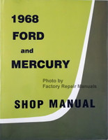 1968 Ford and Mercury Shop Manual