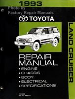 1993 Toyota Land Cruiser Repair Manual