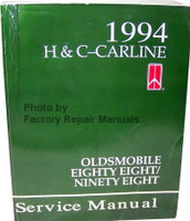 1994 Oldsmobile Nighty Eight, Eighty Eight Factory Shop Service Manual