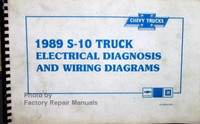 Chevrolet 1989 S-10 Truck Electrical Diagnosis and Wiring Diagrams