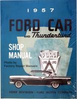 1957 Ford Car and Thunderbird Shop Manual