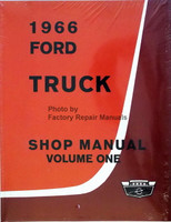 1966 Ford Truck Shop Manual Volume 1, 2, 3