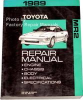 1989 Toyota MR2 Repair Manual