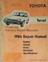 Toyota Tercel 1984 Repair Manual