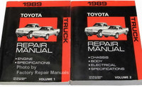 1989 Toyota Truck Repair Manuals