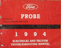 Ford Probe 1994 Electrical & Vacuum Troubleshooting Manual