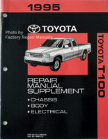 1995 Toyota T100 Repair Manual Supplement