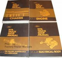 1976 Ford Truck Shop Manuals