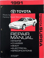 1991 Toyota Supra Factory Repair Manual
