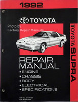 1992 Toyota Supra Repair Manual