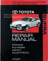 1995 1996 Toyota Supra Repair Manual