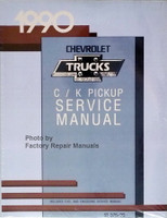 1990 Chevrolet Trucks C / K Pickup Service Manual