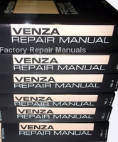 2011 Toyota Venza Repair Manual Volume 1, 2, 3, 4, 5, 6