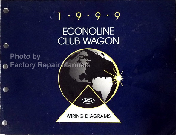 1999 ford econoline club wagon wiring diagrams