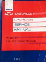 1986 Chevrolet Cavalier Service Manual