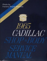 1965 Cadillac Shop & Body Service Manual
