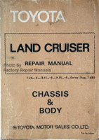 1981-1984 Toyota Land Cruiser Chassis and Body Repair Manual