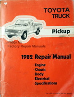 Toyota Pickup 1982 Repair Manual