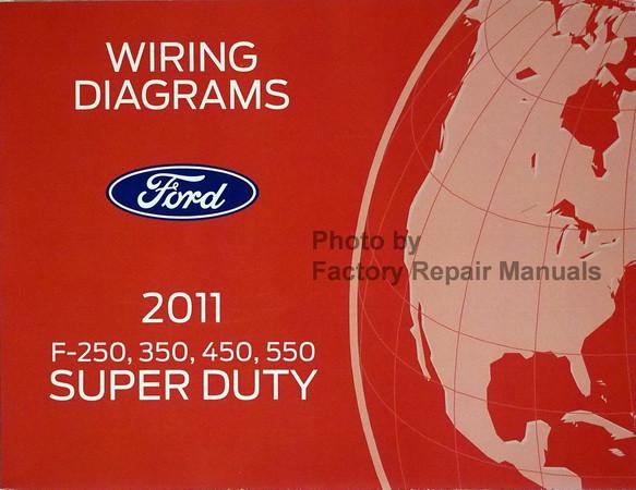 wiring diagrams ford 2011 f-250, 350, 450, 550 super duty