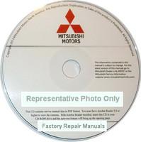 2015 Mitsubishi Outlander Sport Service Manual CD-ROM