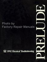 Honda 1992 Electrical Troubleshooting Manual